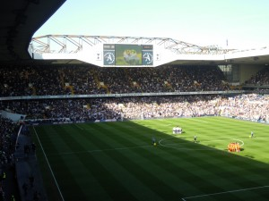 View from the away end at White Hart Lane