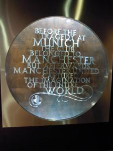 Munich tribute at Old Trafford