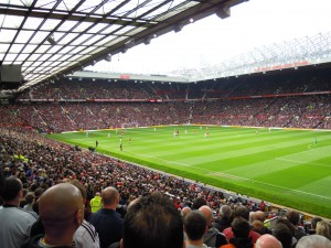 A packed Old Trafford