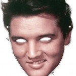 Swansea City Elvis Face Mask