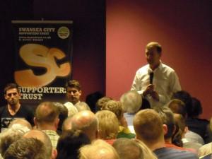 Huw Jenkins - Swansea City Chairman