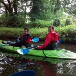 Kayaking on the Swansea Canal