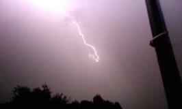 lightning from my office window