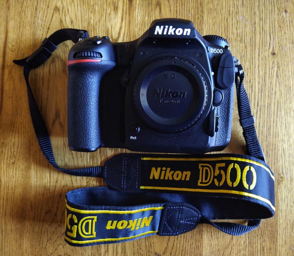 My Nikon D500 camera